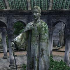 Posąg Talosa z gry The Elder Scrolls IV: Oblivion