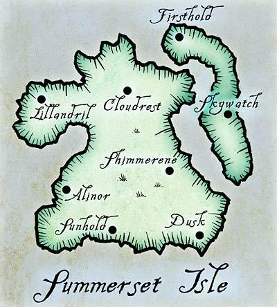 Саммерсет карта