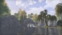 Сиродил (Online) — Озеро с водопадом