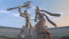 Almalexia-statua