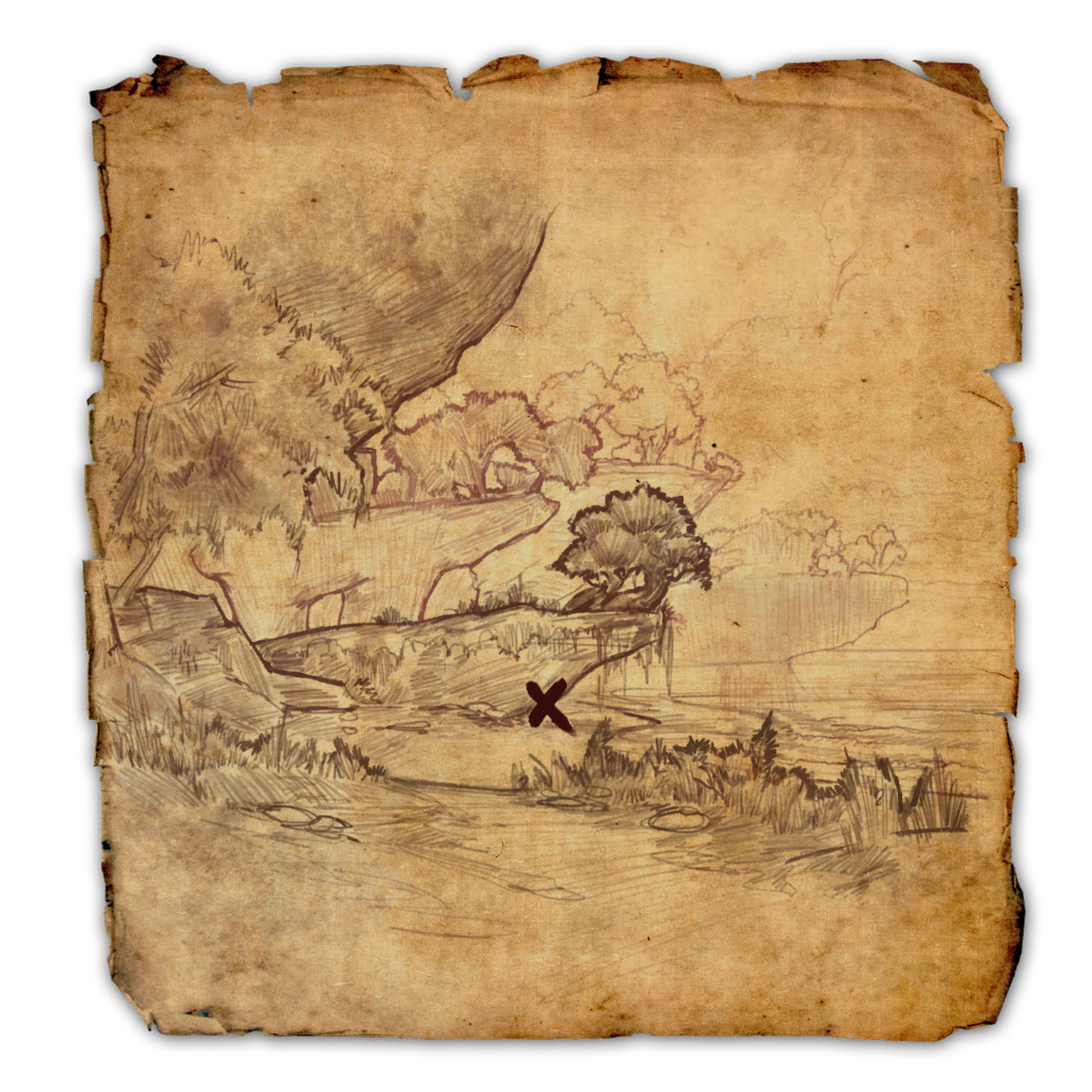 Auridon Treasure Map IV   Elder Scrolls   FANDOM powered by Wikia