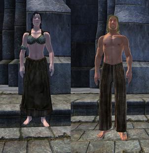 Грубая одежда 1