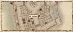 Дом Дориана. Карта