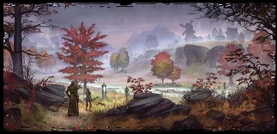 Сиродильский пейзаж (концепт-арт)