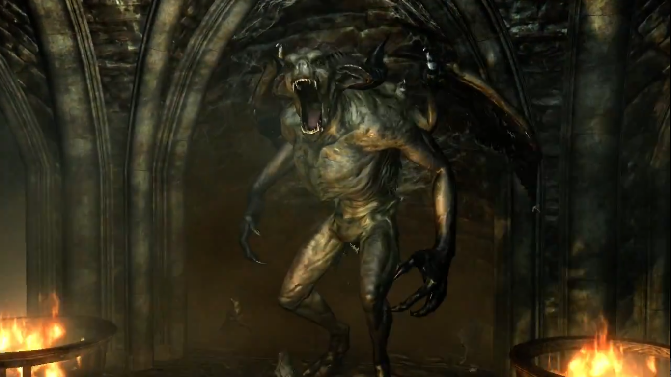 Gargoyle dawnguard the elder scrolls wiki fandom powered by gargoyle voltagebd Choice Image