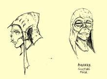 Máscara cenicia