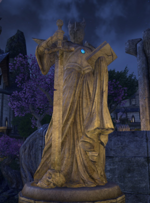 Trinimac posąg altmerski (Online)