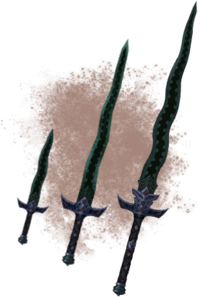 Данмерские мечи (концепт-арт)