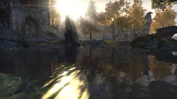 Река, разделяющая город