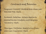 Contracts and Bounties