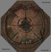 Dutadalk Yurt Interior Map