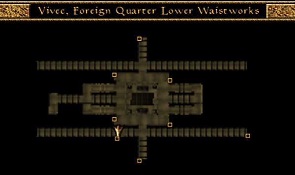File:Vivec, Foreign Quarter, Lower Waistworks, Miun-Gei Enchanter Waistworks Map Morrowind.png