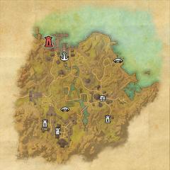 Бал Фойен-Дорожное святилище Верфи Бал Фойена-Карта
