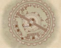 Бастион. Карта