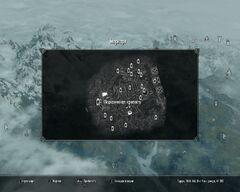 Подкаменная крепость, карта