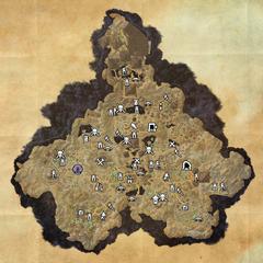 Хладная Гавань-Безлунная аллея-Карта