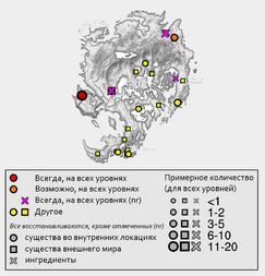 Эссенция пустоты - карта