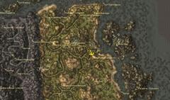 Яичная шахта Синарралит. Карта