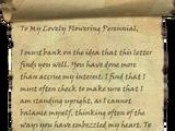Atrocious Love Letter
