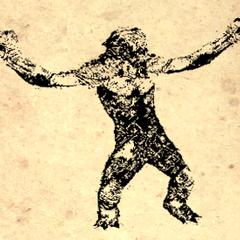 Rysunek trolla z książki Zabijanie trolli