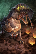Hive Worker card art