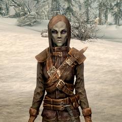 Dunmerka z gry The Elder Scrolls V: Skyrim