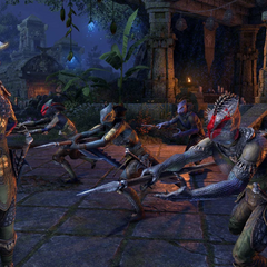 Plemię Naga-Kur z gry The Elder Scrolls Online