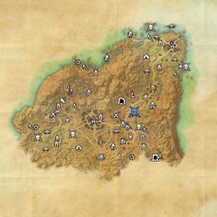 Ривенспайр-Крепость Старого Калгона-Карта