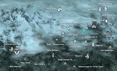 Темное Ущелье карта