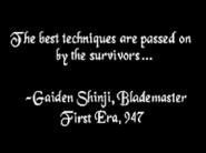 Gaiden Shinji Quote