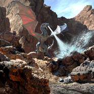 Legends - Glacial Dragon (Card Art)