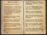 The Five Tenets (Dark Brotherhood)
