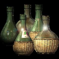Пустая бутылка из-под вина (Все виды) Empty Wine Bottle (All Types) 001