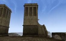 Юг западной сторожевой башни
