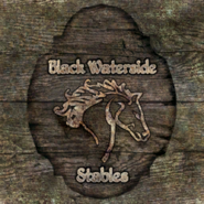 TESIV Sign Black Waterside Stables