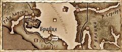 Баун. Карта