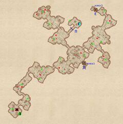Лангуст - Болотистое дно. План