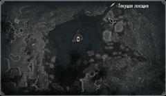 Пруд Глаз Мары - карта