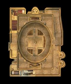 Храм Альдрун. План