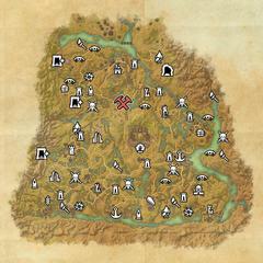 Шедоуфен-Деревня Грязное Дерево-Карта