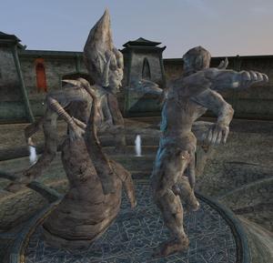 Almalexia i Mehrunes Dagon (Morrowind)