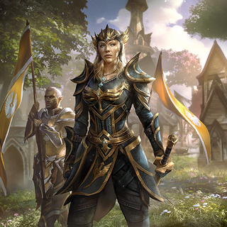 Queen Ayrenn występująca w <a href=