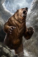 Cave Bear card art