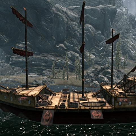 Katariah – Statek Cesarza Tamriel