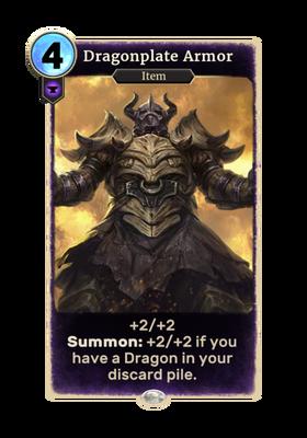 Драконья панцирная броня (Card)