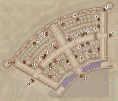 Эльфийские сады - карта