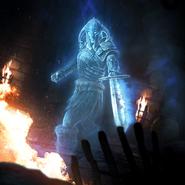 Dragon Cult Ghost card art