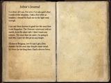Jofnir's Journal (Sentinel)