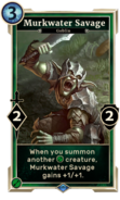 Murkwater Savage (Legends) DWD