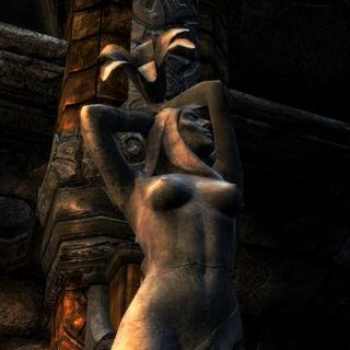 Posąg Dibelli z gry The Elder Scrolls V: Skyrim
